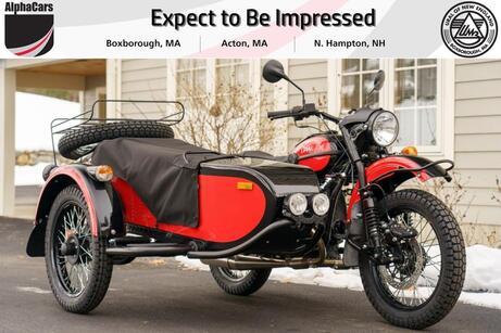 2021 Ural Gear Up Red & Black Boxborough MA