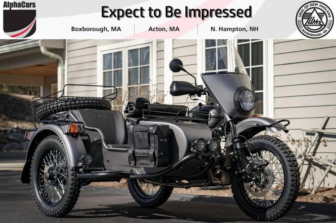 2021 Ural Gear Up Slate Grey Custom Boxborough MA