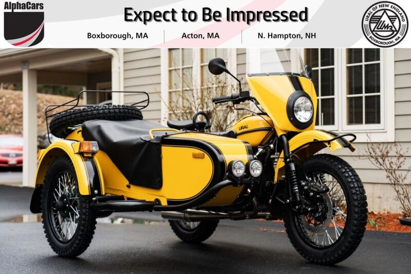 2021 Ural Gear Up Yellow & Black Boxborough MA