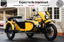 2021 Ural Gear Up Yellow & Black