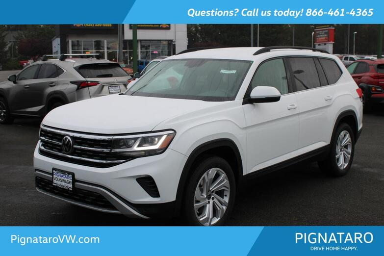 2021 VOLKSWAGEN Atlas 3.6L V6 SE w/Technology Everett WA