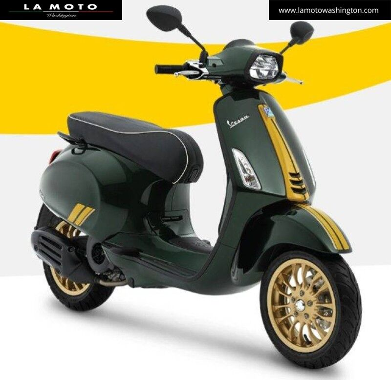 2021 Vespa Sprint 150 Racing Sixties Arlington VA