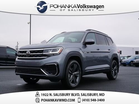 2021_Volkswagen_21.5 Atlas_3.6L V6 SE w/Technology R-Line_ Salisbury MD