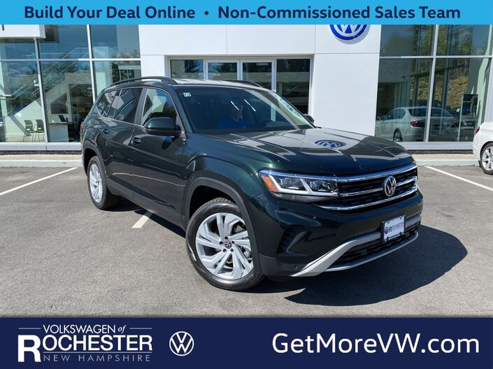 2021 Volkswagen Atlas 2.0T SE w/Technology 4Motion 2021.5 Rochester NH