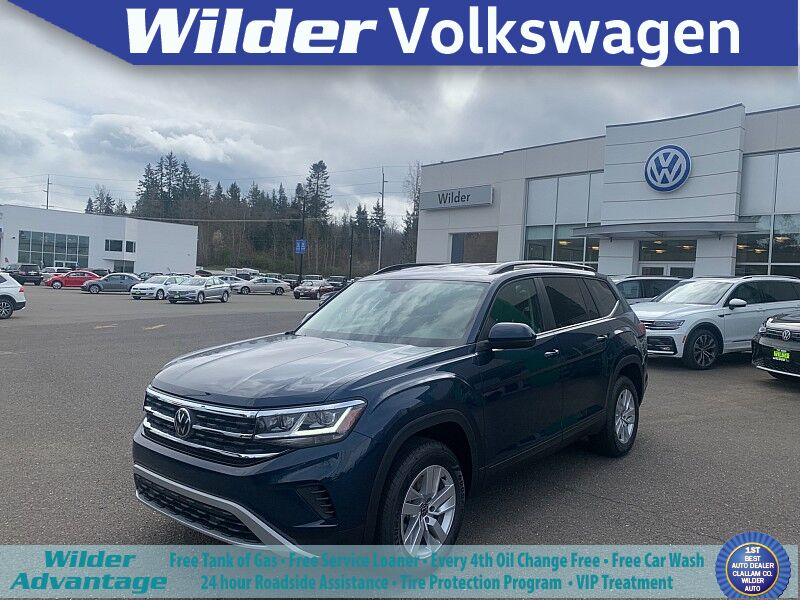 2021 Volkswagen Atlas 2021.5 2.0T S 4MOTION Port Angeles WA