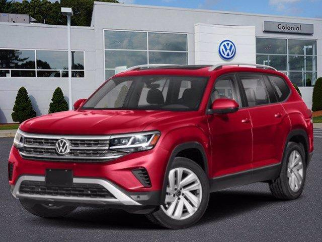 2021 Volkswagen Atlas 2021.5 3.6L V6 SE w/Technology 4MOT Westborough MA