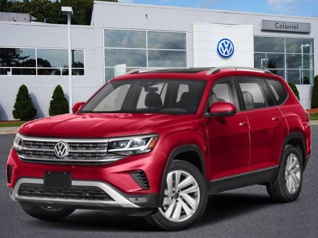 2021 Volkswagen Atlas 2021.5 3.6L V6 SE w/Technology 4MOT Wellesley MA