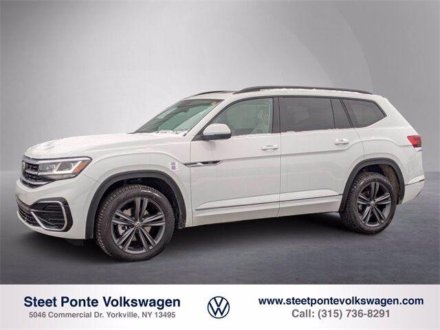 2021 Volkswagen Atlas 2021.5 3.6L V6 SE w/Technology R-Line Yorkville NY