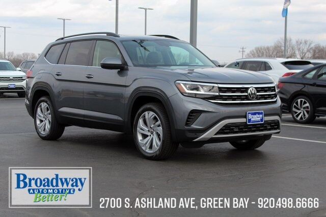 2021 Volkswagen Atlas 21.5 3.6L V6 SE w/Technology 4Motion 21.5 Green Bay WI