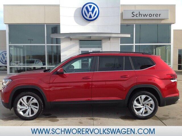 2021 Volkswagen Atlas 21.5 V6 SE w/Technology FWD Lincoln NE