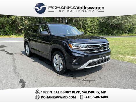 2021_Volkswagen_Atlas_3.6L V6 SE w/Technology ** VW CERTIFIED **_ Salisbury MD