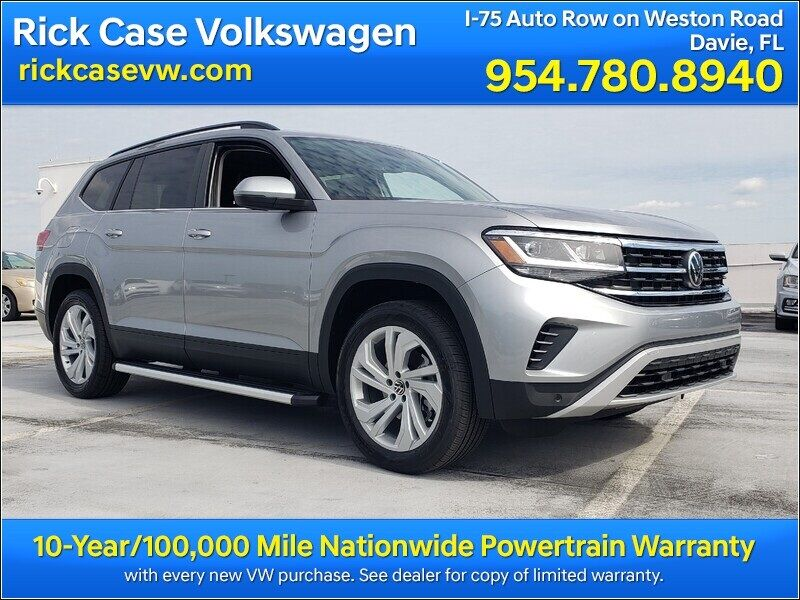 2021 Volkswagen Atlas 3.6L V6 SE w/Technology 2021.5 Davie FL