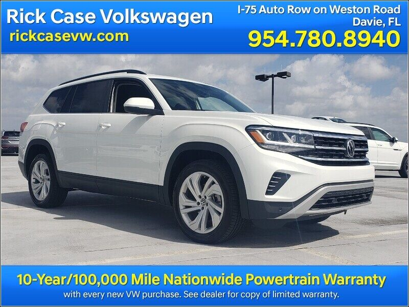 2021 Volkswagen Atlas 3.6L V6 SE w/Technology 2021.5