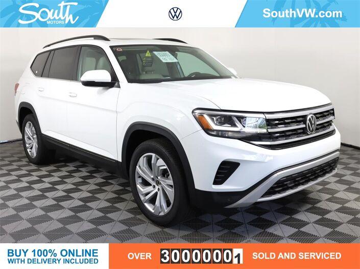 2021 Volkswagen Atlas 3.6L V6 SE w/Technology 2021.5 Miami FL