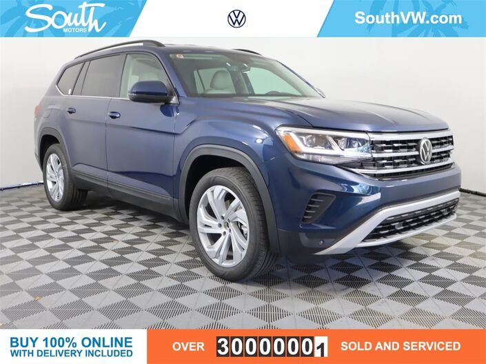 2021 Volkswagen Atlas 3.6L V6 SE w/Technology 2021.5 Miami FL