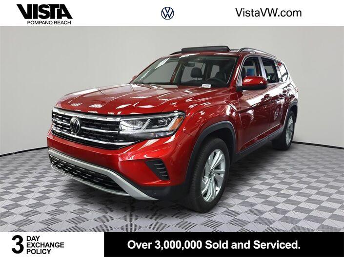 2021 Volkswagen Atlas 3.6L V6 SE w/Technology 2021.5 Pompano Beach FL