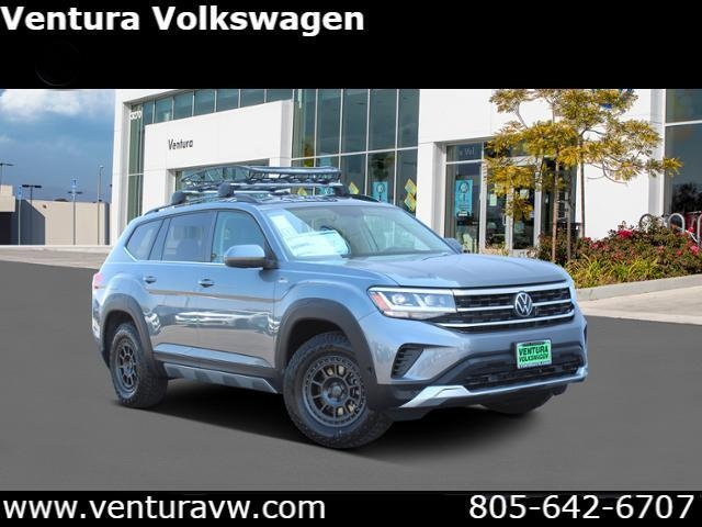 2021 Volkswagen Atlas 3.6L V6 SE w/Technology 4MOTION *Lt
