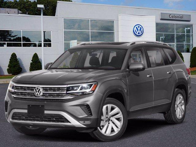 2021 Volkswagen Atlas 3.6L V6 SE w/Technology 4MOTION Wellesley MA