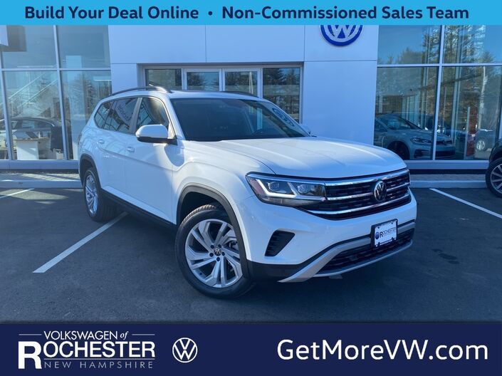 2021 Volkswagen Atlas 3.6L V6 SE w/Technology 4Motion 2021.5 Rochester NH