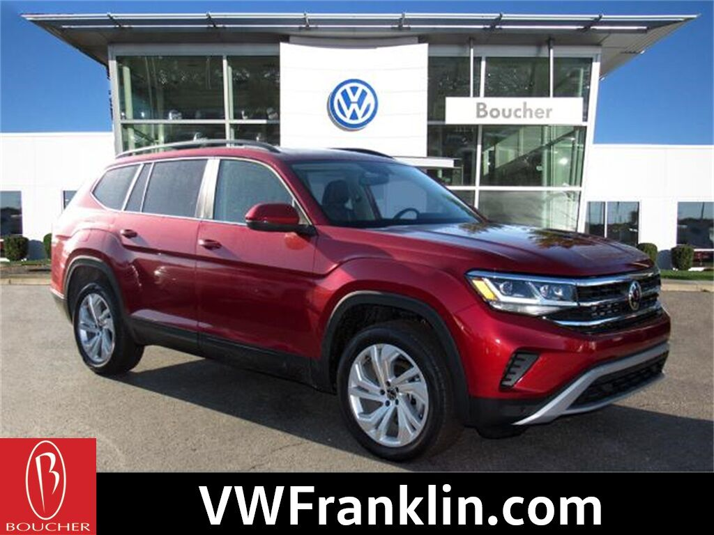2021 Volkswagen Atlas 3.6L V6 SE w/Technology 4Motion Franklin WI