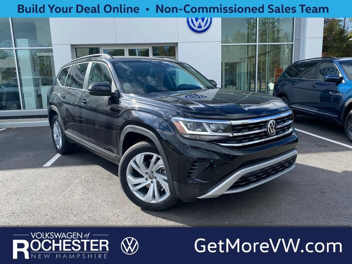 2021 Volkswagen Atlas 3.6L V6 SE w/Technology 4Motion Rochester NH