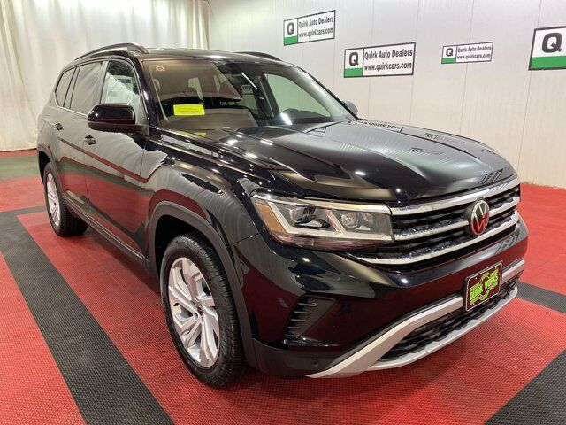 2021 Volkswagen Atlas 3.6L V6 SE w/Technology Bench Seats Braintree MA