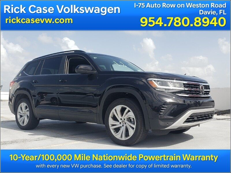 2021 Volkswagen Atlas 3.6L V6 SE w/Technology Davie FL