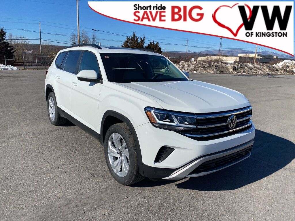 2021_Volkswagen_Atlas_3.6L V6 SE w/Technology_ Kingston NY