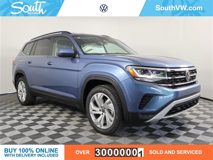 2021 Volkswagen Atlas 3.6L V6 SE w/Technology Miami FL