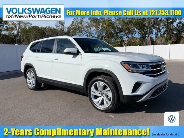 2021 Volkswagen Atlas 3.6L V6 SE w/Technology New Port Richey FL