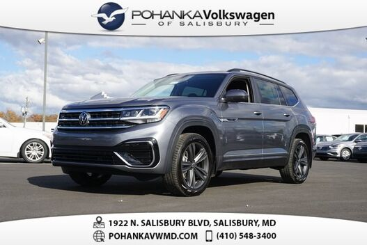 2021_Volkswagen_Atlas_3.6L V6 SE w/Technology R-Line 4Motion_ Salisbury MD