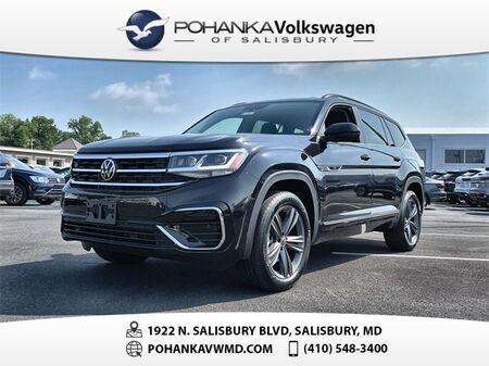 2021_Volkswagen_Atlas_3.6L V6 SE w/Technology R-Line 4Motion_ Salisbury MD