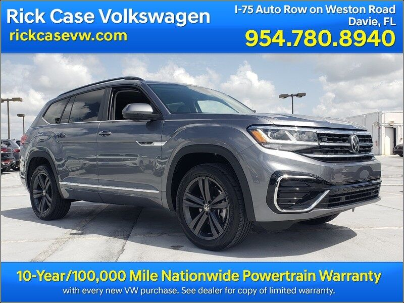 2021 Volkswagen Atlas 3.6L V6 SE w/Technology R-Line Davie FL