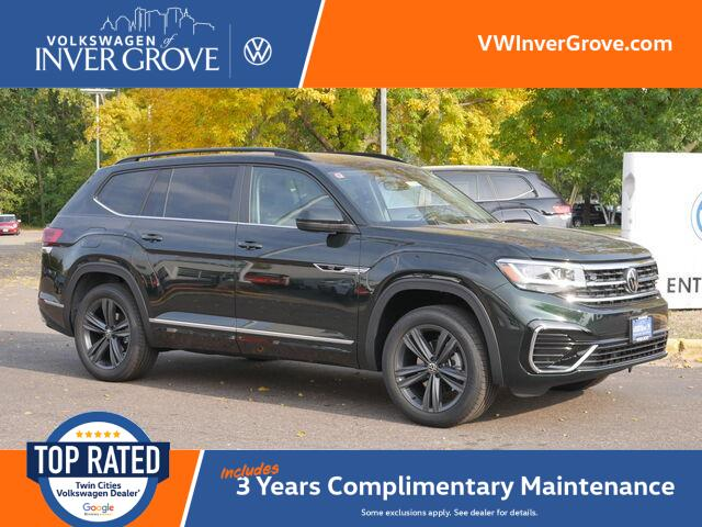 2021 Volkswagen Atlas 3.6L V6 SE w/Technology R-Line Inver Grove Heights MN