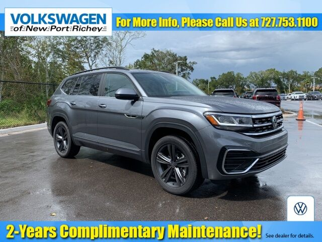 2021 Volkswagen Atlas 3.6L V6 SE w/Technology R-Line New Port Richey FL