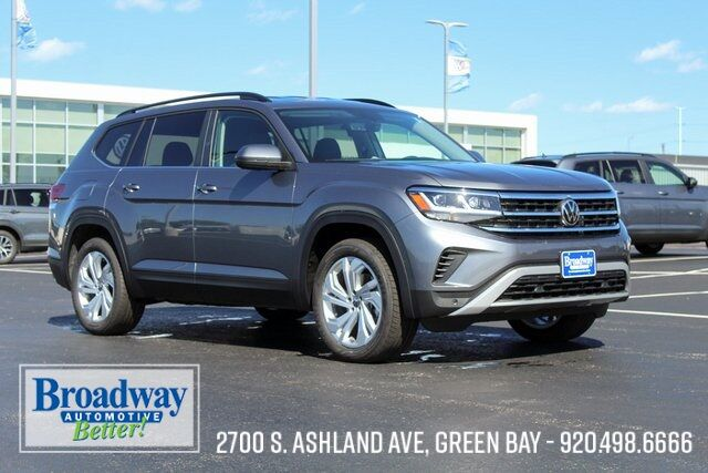 2021 Volkswagen Atlas 3.6L V6 SE w/Technology and 4Motion Green Bay WI