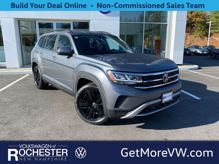 2021 Volkswagen Atlas 3.6L V6 SE w/Technology and 4Motion & Black 20