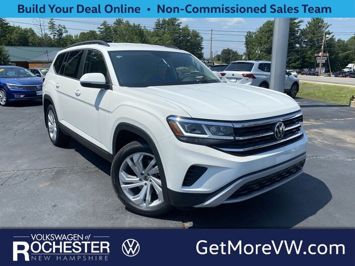 2021 Volkswagen Atlas 3.6L V6 SE w/Technology w/Technology and 4Motion Rochester NH