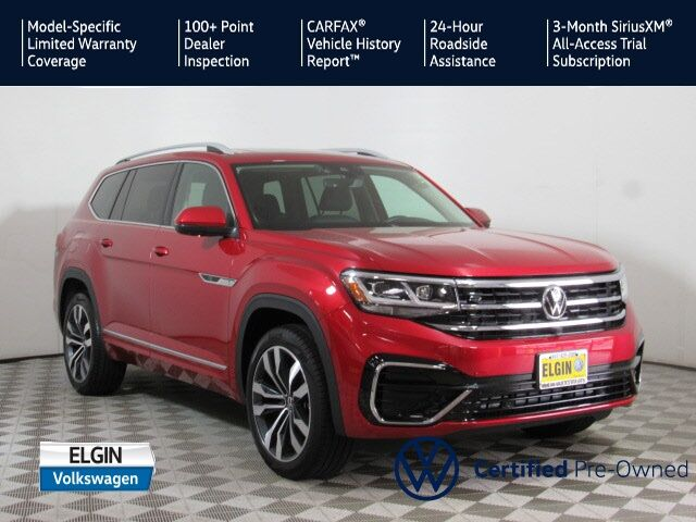 2021 Volkswagen Atlas 3.6L V6 SEL Premium R-Line Elgin IL