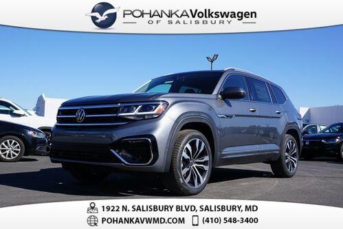 2021_Volkswagen_Atlas_3.6L V6 SEL Premium R-Line_ Salisbury MD