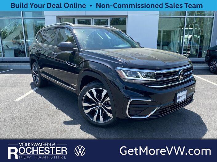 2021 Volkswagen Atlas 3.6L V6 SEL R-Line 4Motion 2021.5 Rochester NH