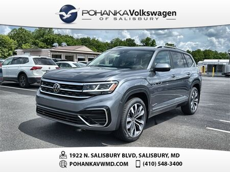 2021_Volkswagen_Atlas_3.6L V6 SEL R-Line_ Salisbury MD