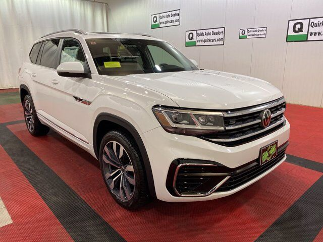 2021 Volkswagen Atlas 3.6L V6 SEL R-Line W\Captain chairs Braintree MA