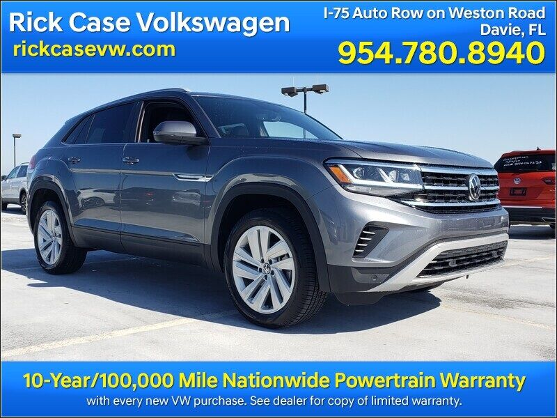 2021 Volkswagen Atlas Cross Sport 3.6L V6 SE w/Technology Davie FL
