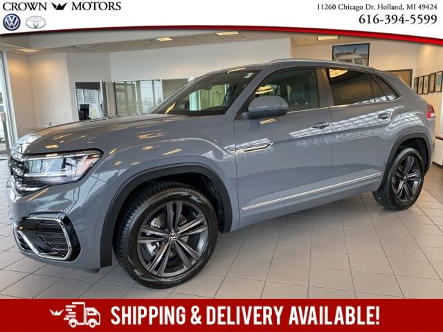 2021 Volkswagen Atlas Cross Sport 3.6L V6 SE w/Technology R-Line 4Motion Holland MI