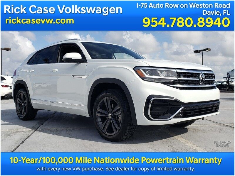 2021 Volkswagen Atlas Cross Sport 3.6L V6 SE w/Technology R-Line Davie FL