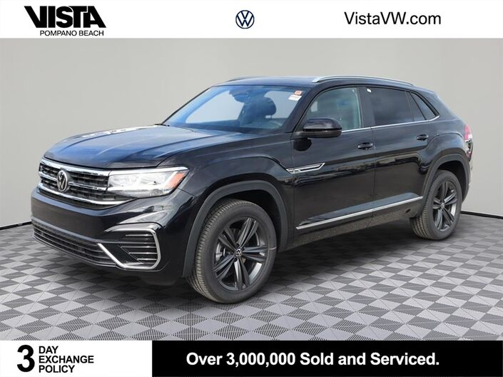 2021 Volkswagen Atlas Cross Sport 3.6L V6 SE w/Technology R-Line Pompano Beach FL