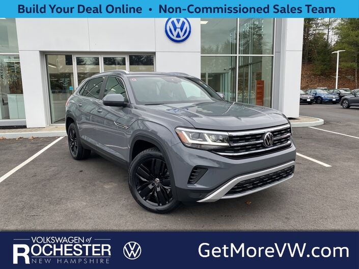 2021 Volkswagen Atlas Cross Sport 3.6L V6 SEL 4Motion & Black 20