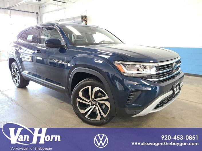 2021 Volkswagen Atlas Cross Sport 3.6L V6 SEL Premium 4Motion Sheboygan WI