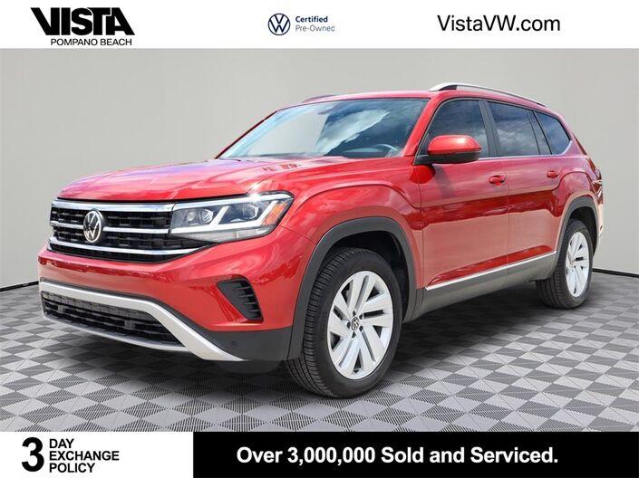2021 Volkswagen Atlas SEL Pompano Beach FL